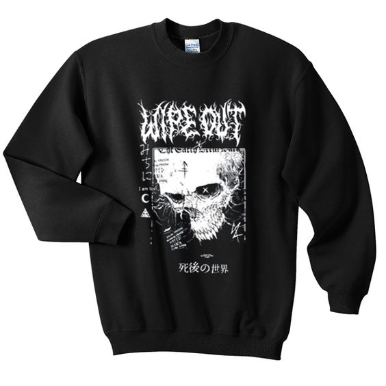 Disturbia wipe out sweatshirt FD5D