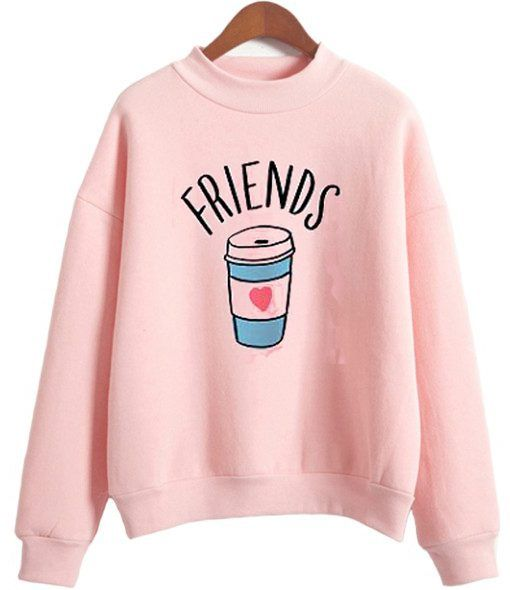 Pink Friends Sweatshirt FD5D