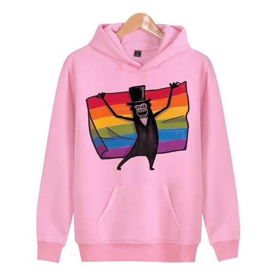 Rainbow Flag Cartoon Hoodie D7ER