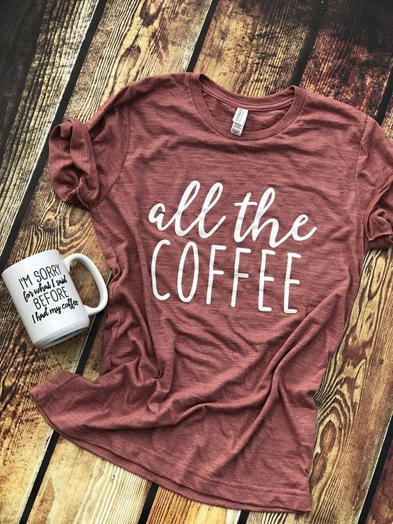 all the coffee T-Shirt RS20D