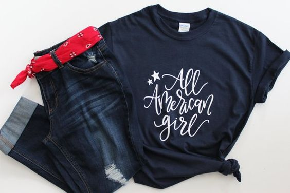 All American Girl T-Shirt ND28J0