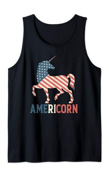 Americorn Unicorn 4th Tanktop ND28J0