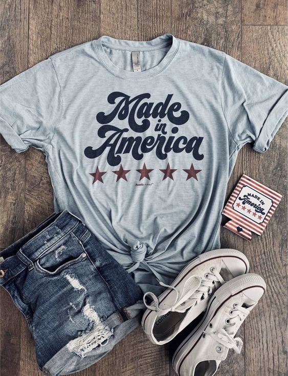 Made in America T-Shirt ND28J0