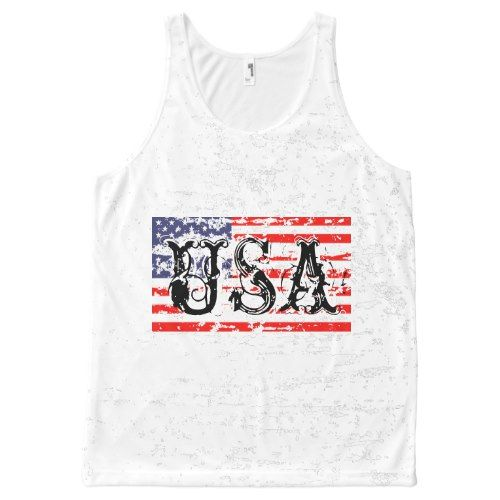 Vintage 4th of July Tanktop ND28J0