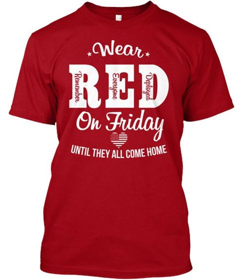 Wear Red Friday T-Shirt ND28J0