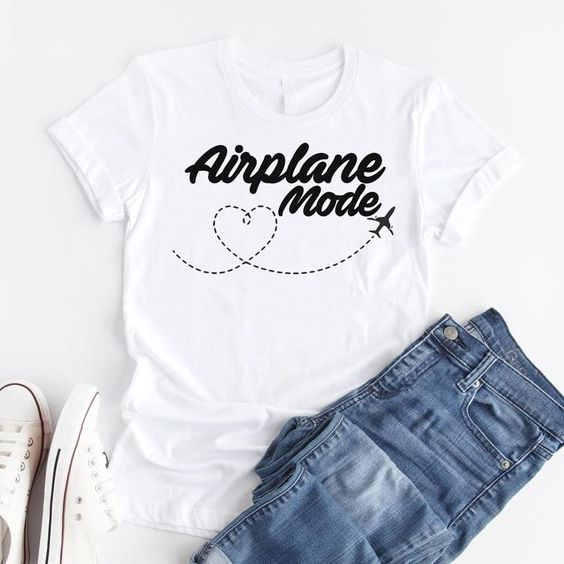 Airplane mode T shirt SR5F0