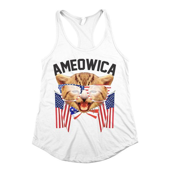 Ameowica Cat Flag Tanktop ZR19M0