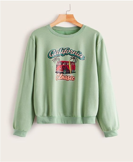 California Classic Sweatshirt ZR19M0