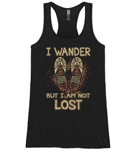 I Wander But I Am Not Lost tanktop ZR19M0