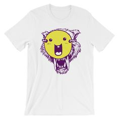 Wolf With The Smiley Tshirt TK17M0