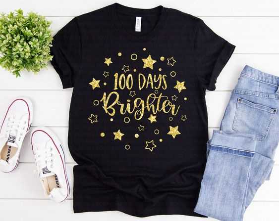 100 Days Brighter Shirt FY6A0