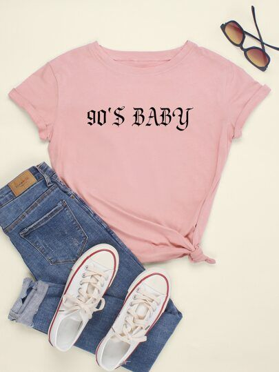 90 S Baby T Shirt SP4A0