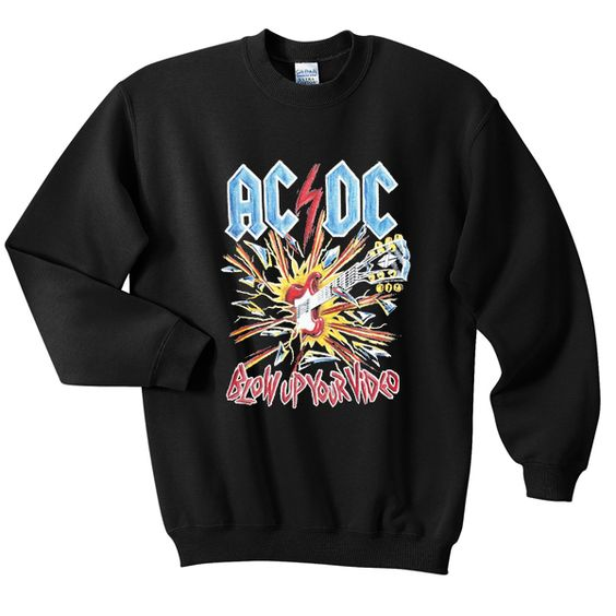 ACDC Blow Up Sweatshirt RL17A0