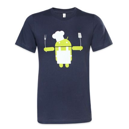 Android Chef Tshirt ND6A0