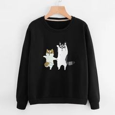 Cute Cartoon Dog Sweatshirt LI14A0