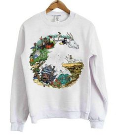 Dragon Studio Ghibli Sweatshirt LI14A0