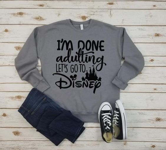 Go to Disney Sweatshirt RL17A0