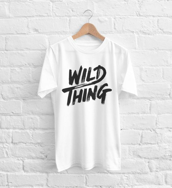 Wild Thing T-Shirt ND20A0