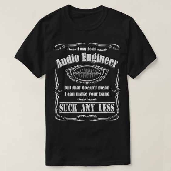 Audio Engineer Band T-Shirt ND6M0