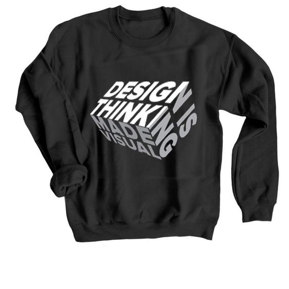 Design is Thinkning Sweatshirt TY23JN0