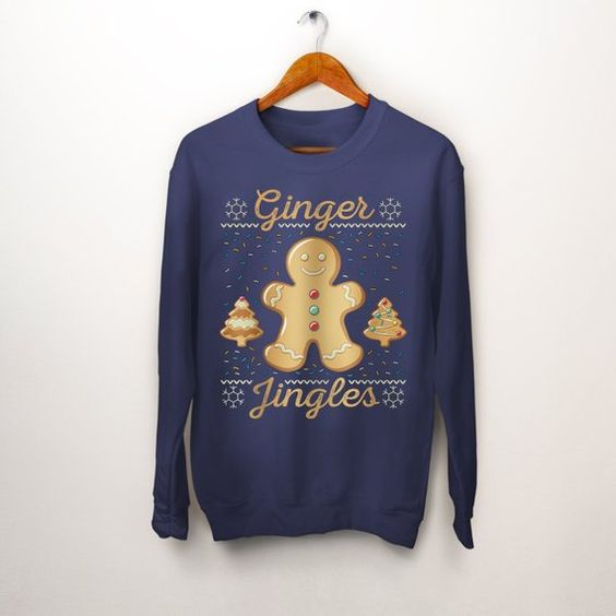 Ginger Bread Cookie Sweatshirt TY23JN0