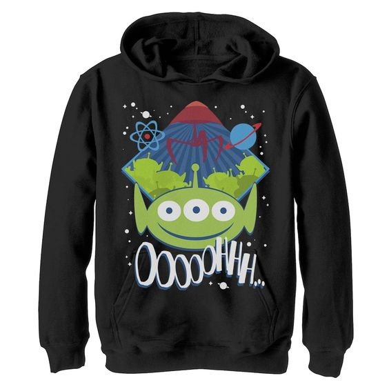 Aliens Cartoon Hoodie AS6AG0