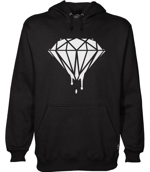 Black Diamond Melted Hoodie AS6AG0