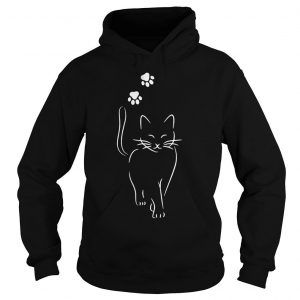Cat Going And Paws Hoodie AS6AG0