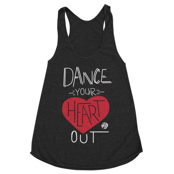 Dance Your Heart Out Tanktop TU14AG0
