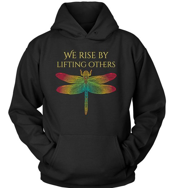 Dragonfly Lifting Others Hoodie AS6AG0