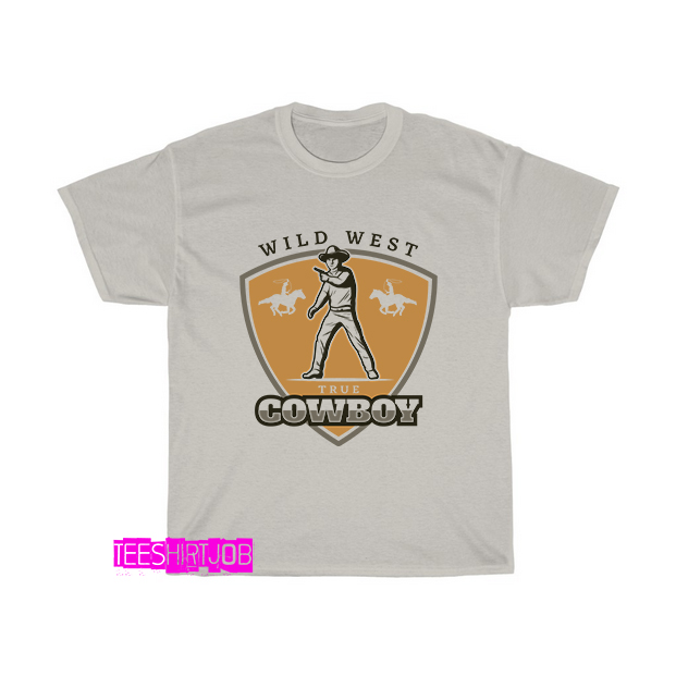 wild-west-true-cowboy-T-Shirt EL24D0
