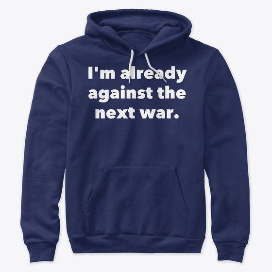Already Against Hoodie SR19MA1
